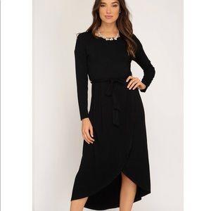 Dresses & Skirts - Midi Black Dress